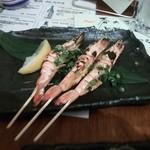 ひぼし屋 - 海老とウニの黄金焼き