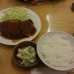 大須食堂 おおもり - 味噌カツ定食