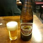 鳥一 - キリンラガー大瓶:550円