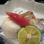 35897362 - 太刀魚と天然ふぐの白子