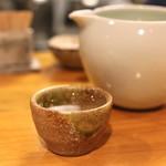 石臼挽き手打 蕎楽亭 - 飛露喜 特別純米 生原酒 (2015/02)