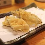 石臼挽き手打 蕎楽亭 - 天ぷら (穴子) (2015/02)
