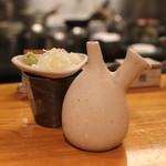 石臼挽き手打 蕎楽亭 - 麺汁セット (2015/02)