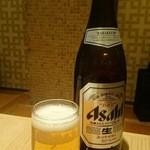 和食 たちばな - 瓶ビール