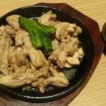 和食 たちばな - 鶏せせり鉄板焼き