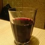 和食 たちばな - グラスワイン赤