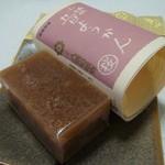八頭司伝吉 - 料理写真:昔ようかん(桜)507円