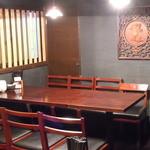 刀削麺園 - 3階個室は10名~16名様まで