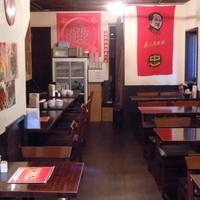 刀削麺園 - 2階席は30名様までの宴席に対応