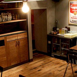 ◆広々としたオシャレでカッコイイ店内◆