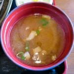トンマル - 味噌汁