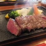 NIKUバル1028 - 筑穂牛のステーキ