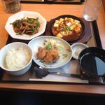 やよい軒 - 青椒肉絲定食 ¥890