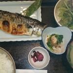 35901525 - 小樽、焼き鯖定食