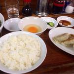 らーめんミート - ラーメン定食  800円