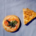 グルートン - 菜の花フォカッチャとキッシュ