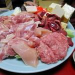 楽 - 名古屋コーチンのモモ肉、胸肉、肝、砂肝、つくね