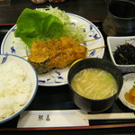 鰍嘉 - 串かつ定食