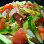 居酒屋 海山 - 海の幸がたっぷりの海鮮サラダ