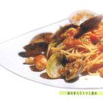 レストラン エルカミーノ - 海の幸入りトマト風味