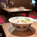 麺屋 がんてつ - 料理写真:讃岐 鶏そば おや (756円) '15 2月上旬