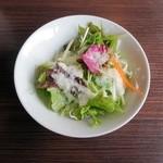 洋食かつ 兎 - サラダ