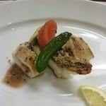 35910181 - コースの魚料理