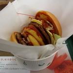 モスバーガー - 東京タワーチーズバーガー¥860円