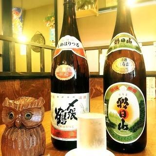 日本酒・ビールございます!