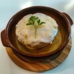 ブリーズ カフェ - ツナチーズパンケーキ