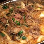 南屋韓国食堂 - 黒毛和牛のプルコギ
