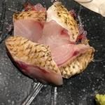 都寿司 - のどぐろのお刺身