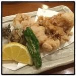 いろは寿司 - あんこう唐揚。 サイドメニューが充実。