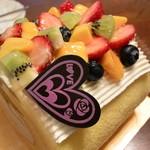 菓子の家 - フルーツロール 1800円 2015.3