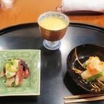 京料理 藤本 - 先付3種