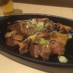 伊万里 - 料理写真:ホルモン鉄板焼き