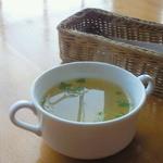 インディゴ - 料理写真:ミニオムライスのスープ