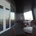 マーメイドギャレー - テラス席からみえる太平洋がとっても綺麗♪