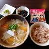 いっぺき - 料理写真:野菜あんかけうどんと定食セット
