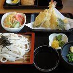 慶山 - 料理写真:天ぷらセット