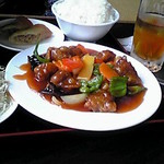 台湾料理 香林坊 - 酢豚ラーメン定食