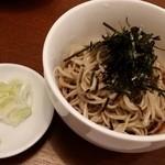 ビーダブリュー カフェ - 石臼挽き蕎麦