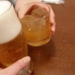 ビーダブリュー カフェ - 乾杯はビールと梅酒
