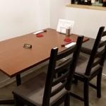 ビーダブリュー カフェ - 我々のゆったりテーブル