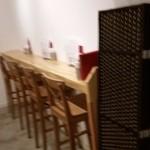 ビーダブリュー カフェ - カウンターもあります