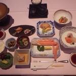 ノーザンアークリゾートホテル - ある日の夕食