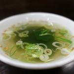 餃子屋麺壱番館 - スープ☆
