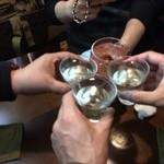 アオニサイ - 乾杯!