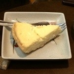 アオニサイ - 自家製 広島レモンのチーズケーキ350円
