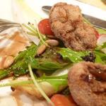 レストラン アンシャンテ - 牡蠣のサラディエールアップ